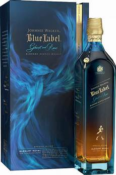 johnnie walker blue label ghost and rare glenury royal 0 7 liter 43 8 vol limited edition