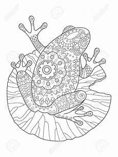 ausmalbild frosch mit krone tiffanylovesbooks