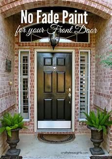 crafty texas painting your front door