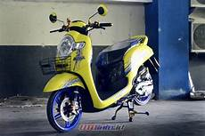 Modifikasi Honda Scoopy 2018 by Modifikasi Honda Scoopy 2018 Purwokerto Baby Mothay