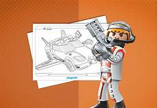 coloriage playmobil top agents playmobil 174