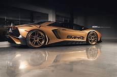 lamborghini aventador sv roadster 2018 lamborghini aventador sv roadster in gold is captivating drivers magazine