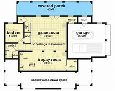 house plans for sloping lots in the rear gracious 4 bed southern house plan for a rear sloping lot