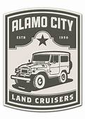Alamo City Land Cruiser Club Logo  Toyota Of