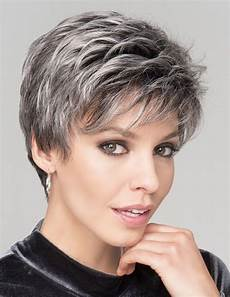 salt and pepper short hairstyles for women over 50 short salt and pepper fashion wig rewigs com