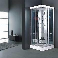 cabine multifunzione cabina 90x90 box doccia idromassaggio vetro multifunzione