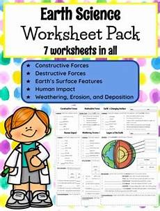 earth science with worksheets 13393 editable 5th grade earth science worksheets by teach in the