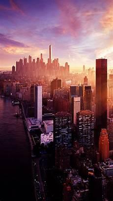 new york wallpaper iphone 7 new york sunset city skyline iphone 5s wallpaper