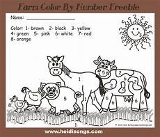 color by number animal worksheets 16069 it s farm week get your freebies farm activities kindergarten lessons farm lessons