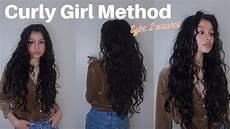 Curly Method Routine Type 2 Wavy Hair