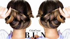 3 minute elegant bun hairstyle every doesn t already know easy updo hairstyles youtube