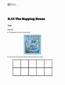 the napping house lesson plan for pre k 1st grade