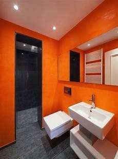 salle de bain orange 54 id 233 es pour inspirer votre d 233 co