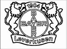 Ausmalbilder Fussball Leverkusen Bayer Leverkusen Soccer Club Logo Clip Coloring Pages