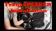 How To Install Front Speakers Honda Civic