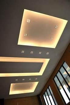 Deckenleuchten Modern Design - overall view of modern ceiling design in living with