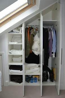 armoire sous comble placard sous pente encastr 233 id 233 es de rangement astucieuses id 233 es pour la maison loft