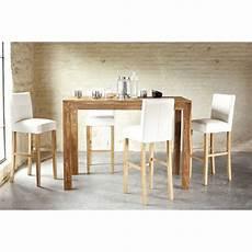 Table 224 Manger Haute En Sheesham Massif 6 8 Personnes L150
