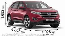 Dimensions Des Voitures Ford Avec Longueur Largeur Et Hauteur