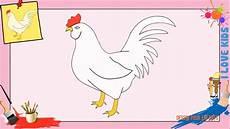 comment dessiner une dessin poule comment dessiner une poule facilement etape