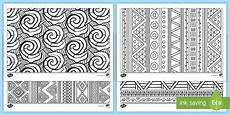 patterns coloring pages made