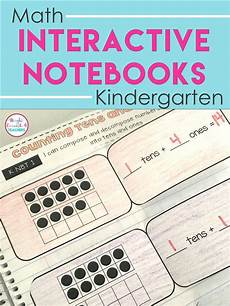 this math interactive notebook for kindergarten covers number sense word problems cardinal