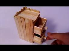 cara membuat rak dari stik es krim youtube