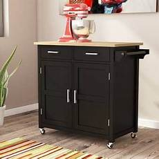 Stylish Freestanding Kitchen Islands Carts In 2020 Adelle A Cart Kitchen Island With Granite Top In 2020