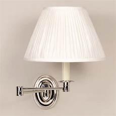 vaughan sanford swing arm wall light nickel abbey electrical sw