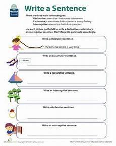 writing sentences worksheets for grade 5 22963 get into grammar types of sentences types of sentences types of sentences worksheet sentences