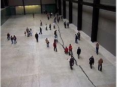 'Shibboleth' by Doris Salcedo, Tate Modern Turbine Hall