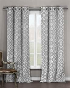 vorhang grau blau duck river textile harris blackout grommet panel pair