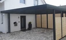 Carport Mit Schuppen Metall - moderne carports carport carport modern und stahlcarport