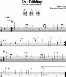Vier Jahreszeiten Malvorlagen Chords Tutorial Der Fr 252 Hling Vivaldi Mit Videoanleitung