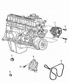 2006 jeep engine diagram 56041864ab genuine mopar alternatr engine
