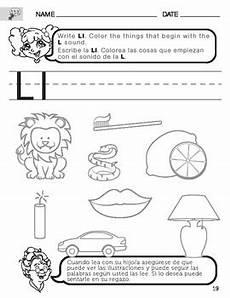 letter l sound worksheets 24492 letter l sound worksheet with translated into for parents