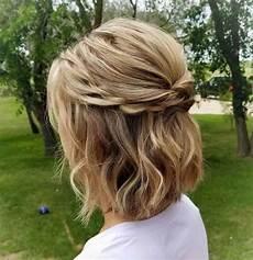 60 easy updos for medium hair january 2020