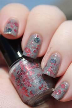 emo party on polish monster nail polish nails cute nails