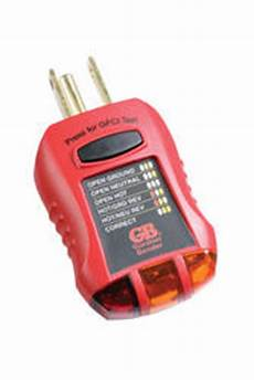 ground fault indicator tester wiring diagram ground fault receptacle tester and circuit analyzer at menards 174
