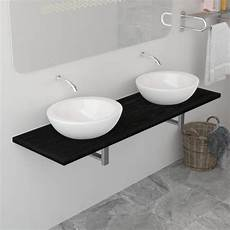 bad wandregal bad wandregal f 252 r waschbecken schwarz 160 x 40 x 16 3 cm