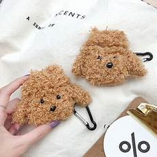 Teddy Earphone Protectiver Storage by 3d Plush Teddy Earphone Protective Cover Box For