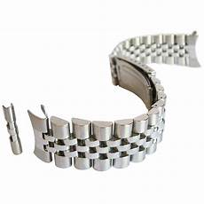 Stainless Steel Band by 20mm Hadley Roma Mb4216 Solid Link Jubilee Stainless Steel