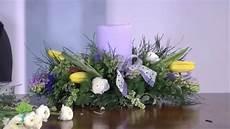composizioni con candele e fiori il centrotavola fiorito fai da te tutorial
