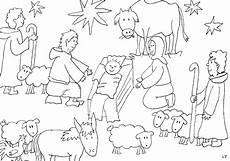 ausmalbilder weihnachten christlich ausmalbilder