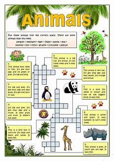 23 free esl animals have got or has got worksheets