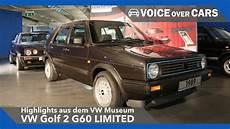 vw golf 2 16v g60 limited vw museum highlights 2016
