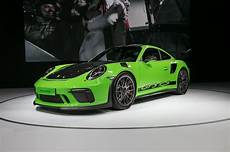 the porsche 911 gt3 rs clock 6 56 4 on the