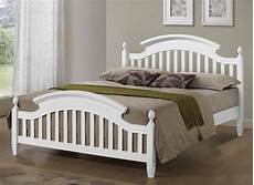 zara white wooden arched headboard bed frame in 3ft single 4ft6 double 5ft king ebay