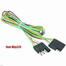 5 trailer light wire harness 4 way wire flat connector trailer light extension 794685159619 ebay