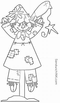 fall is chasing summer so enjoy fall scarecrow coloring